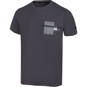 Regatta Cline IV Camiseta Hombre, gris